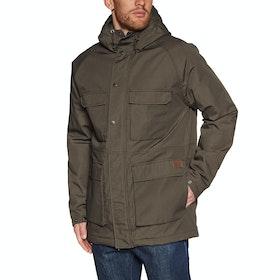 Volcom Renton Winter 5k Waterproof Jacket - Major Brown