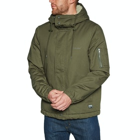 Volcom Vaugan Waterproof Jacket - Military