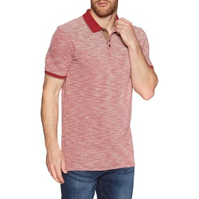 Chemise Polo Quiksilver Burning Mountain - Garnet Heather