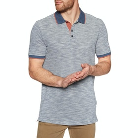 Chemise Polo Quiksilver Burning Mountain - Moonlit Ocean Heather
