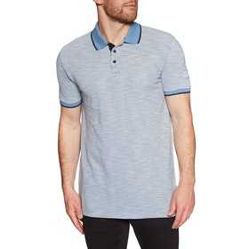 Quiksilver Burning Mountain Polo Shirt - Quiet Harbor Heather