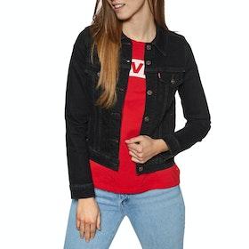 Levi's Original Trucker Womens Jacket - Black Rose