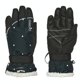 Protest Quite Snow Gloves - True Black