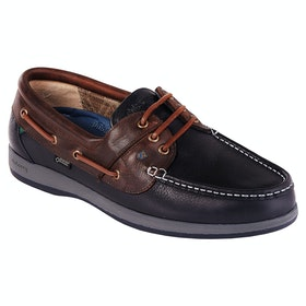 Dubarry Mariner Mens Dress Shoes - Navy Brown