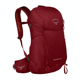 Osprey Skarab 30 Hiking Backpack - Mystic Red
