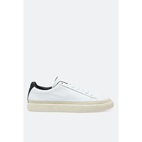 Puma Basket Trim Shoes - Puma White Whisper White Puma Black