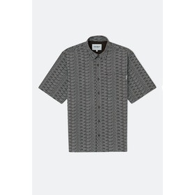 Carhartt Typo S S Shirt - Print Tobacco Wax