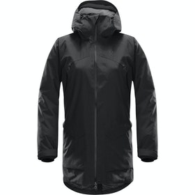 Haglofs Torsång Parka Ladies Jacket - True Black