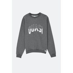 Quasi Arc Crew Sweatshirt - Charcoal Heather