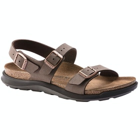Birkenstock Sonora Ct Oiled Leather Sandals - Mocha