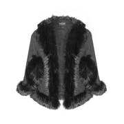 Jayley Luxury Faux Fur Damski Kurtka