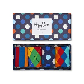 Happy Socks Mix 4 Pack Socks - Mixed