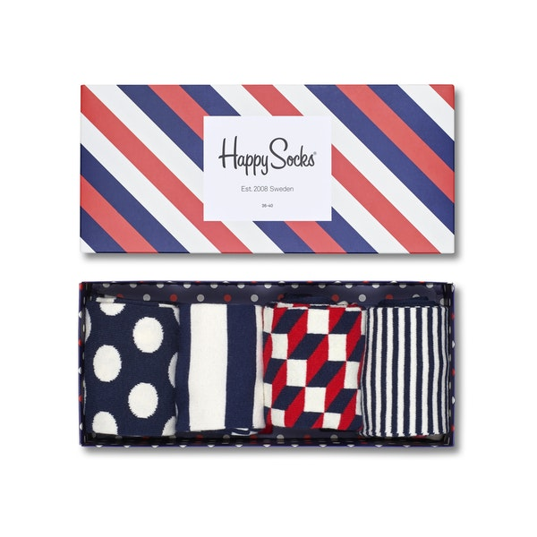 Happy Socks Happy Big Dot 4 Men's Fashion Socks