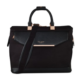 Ted Baker Albany Butterfly Collective Print Lined Small Clipper Holdall Women's Duffle Bag - Black