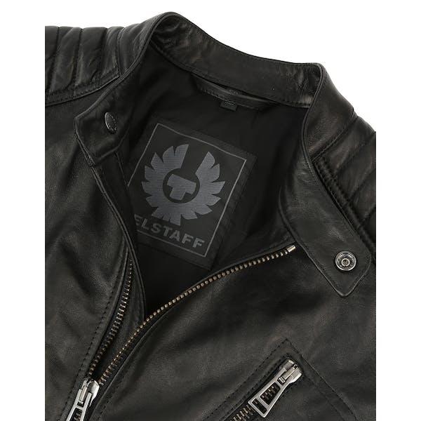 nice cheap best supplier usa cheap sale Belstaff Racer Blouson Men's Leather Jacket - Black ...