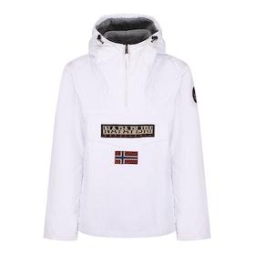 Napapijri Rainforest Winter Men's Waterproof Jacket - Winter White