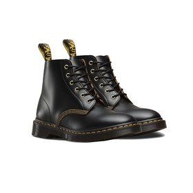 Dr Martens Arc 6 Eyelet Boots - Black