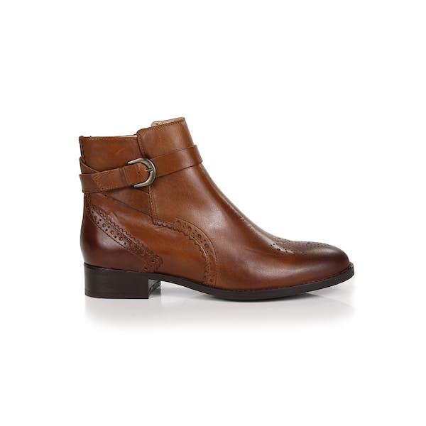 Clarks Netley Olivia Brogue Detail Ankle Women's Boots