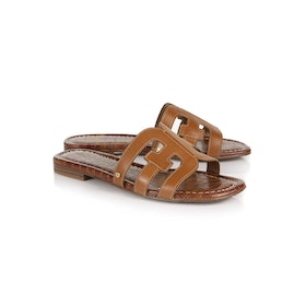 Sam Edelman Bay Vaquero Damen Sandalen - Saddle