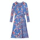 Cath Kidston Sketchbook Bloom Faux Wrap Dress