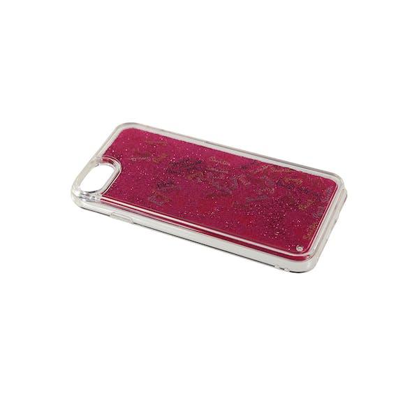 Paul Smith Liquid Glitter Logo iPhone 7 and 8 Dames Telefooncase