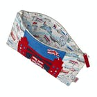 Cath Kidston London Map Applique Pouch Waszak
