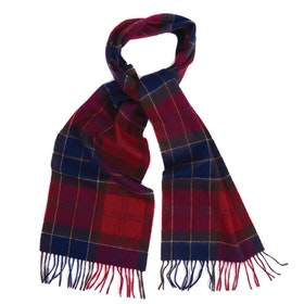 Barbour Holden Scarf - Red Tartan