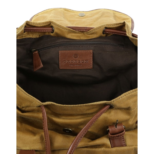 Grenson Large Canvas Backpack
