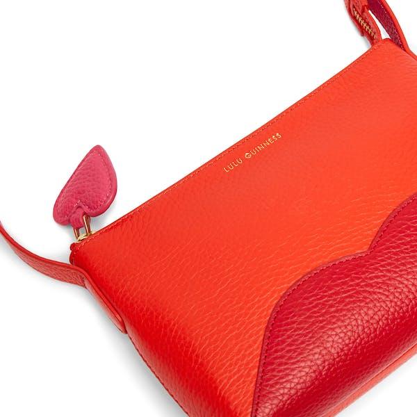 Lulu Guinness Marie Hearts and Lips Cross Body Women's Handbag