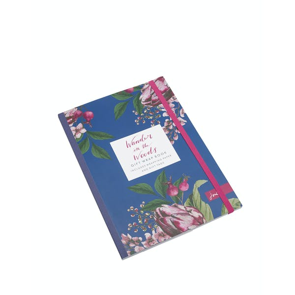 Joules 16 Page Gift Wrap Book Gift Bag