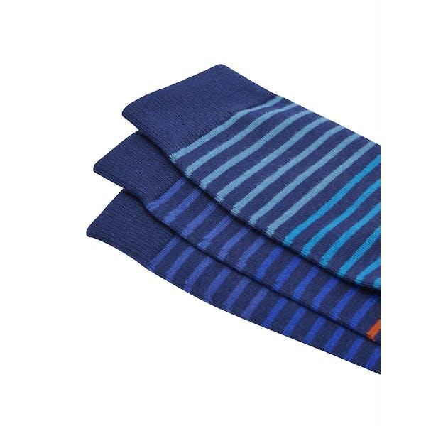 Joules Socks And Shares Set Of Three Bamboo Men's Socks