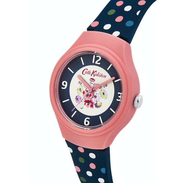 Cath Kidston Mallory Bunch Silicone Strap Women's Watch