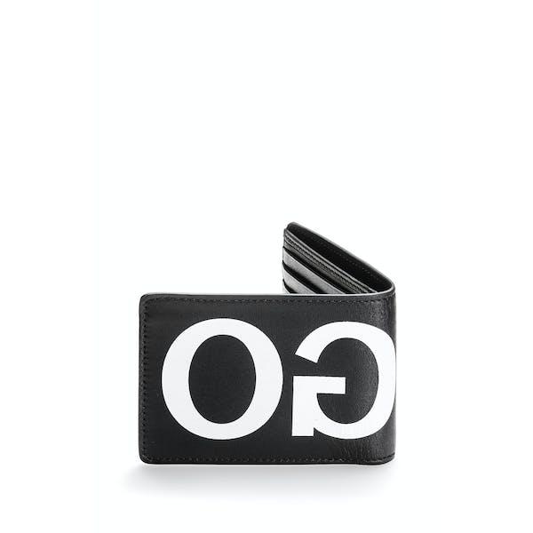 BOSS Victorian Reverse Logo Leather Wallet