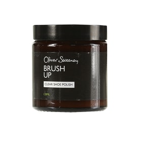 Lucido per Stivali Oliver Sweeney Brush Up Clear Shoe Polish - 120ML