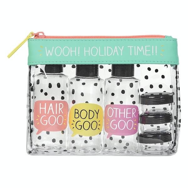 Happy Jackson Travel Essentials Toiletry Pouch Women's Wash Bag