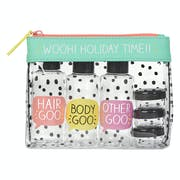 Happy Jackson Travel Essentials Toiletry Pouch Women's Wash Bag
