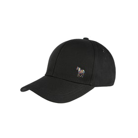 Cappello Uomo Paul Smith Zebra Baseball - Black