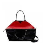 Lulu Guinness Peekaboo Lip Grainy Leather Large Valentina Women's Handbag