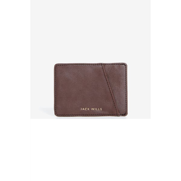 Jack Wills Foxcroft Leather Card Holder