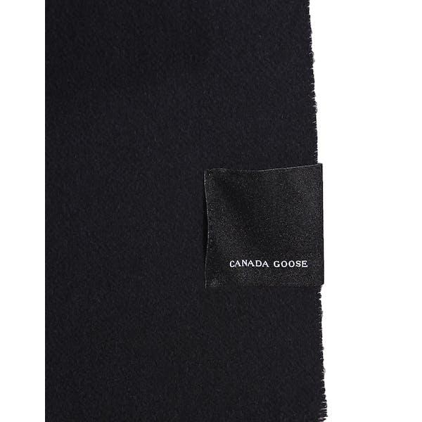 Canada Goose Merino Wool Solid Woven Women's Scarf