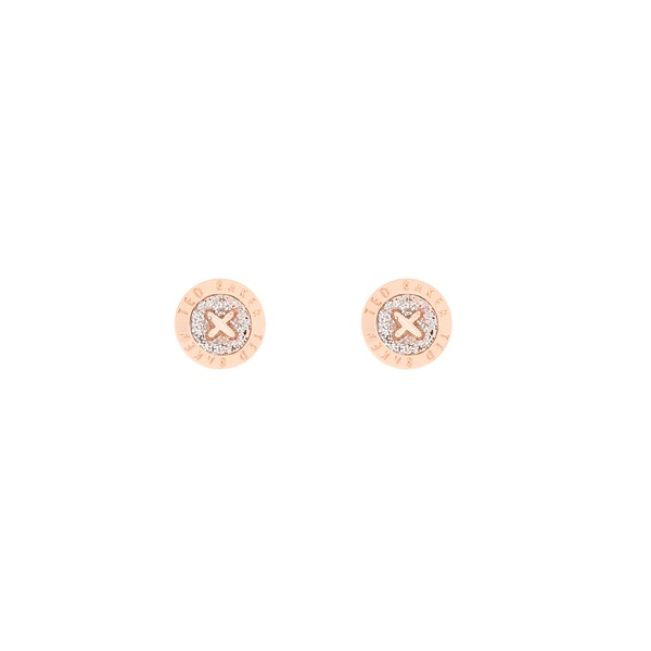 Ted Baker Eisley Enamel Mini Button Stud Earrings