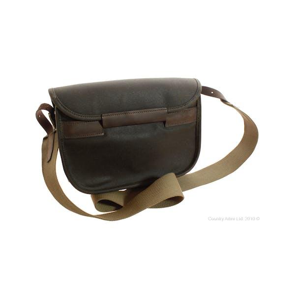 Barbour Wax Leather Cartridge Messenger Bag