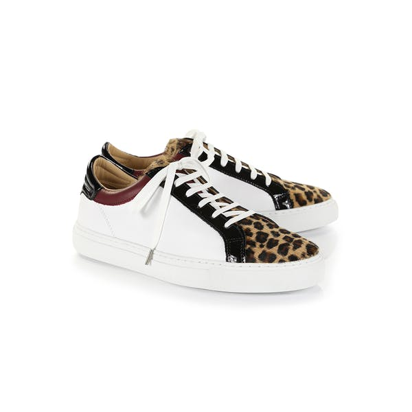 Belstaff Leopard Mix Dagenham Women's Shoes
