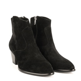ASH Heidi Bis Heeled Women's Boots - Black