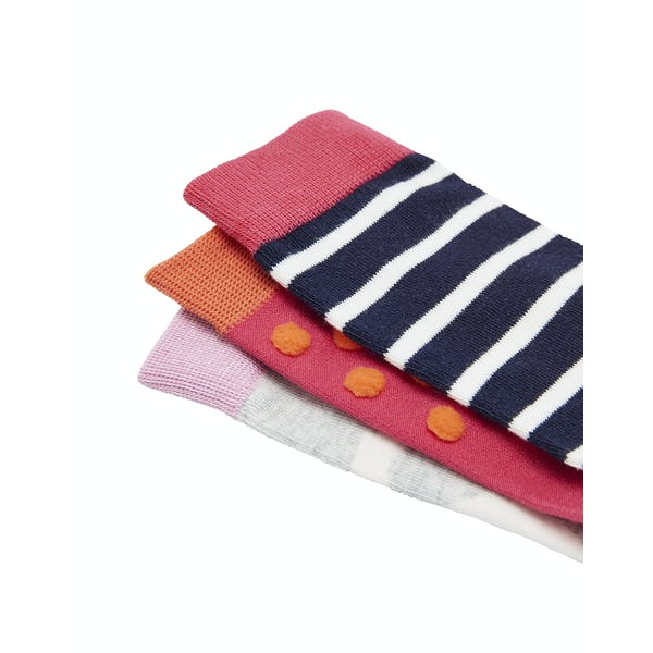 Joules 3 Pack Bamboo Fashion strømper