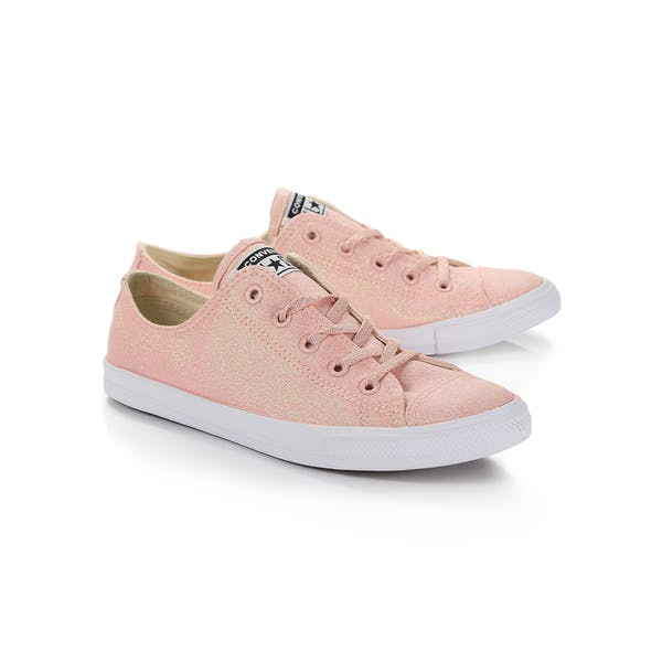 b80ee0cfc0a75 Converse Chuck Taylor All Stars Dainty Ox Women's Shoes - Storm Pink ...