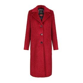 Creenstone Long Length Wool Womens Bunda - Melrot