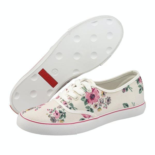 Cath Kidston Sketchbook Ditsy Slim Plimsoll Women's Shoes
