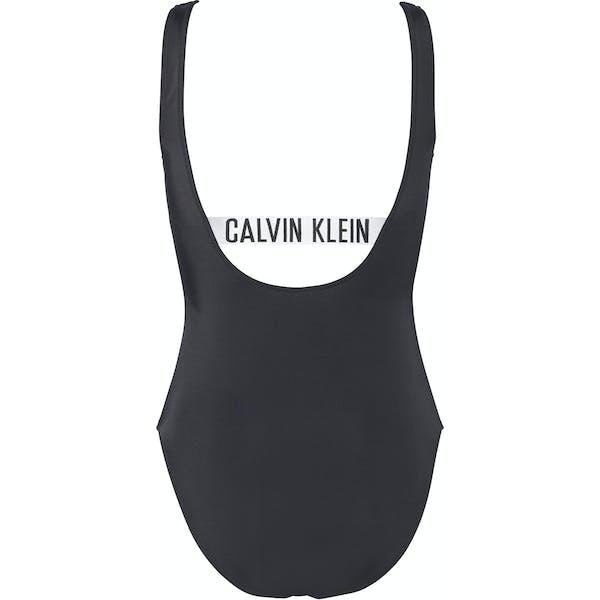 Calvin Klein Square Scoop One Piece Kvinner Svømmeantrekk