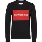 CK Jeans Institutional Box Crew Neck Women's Sweater